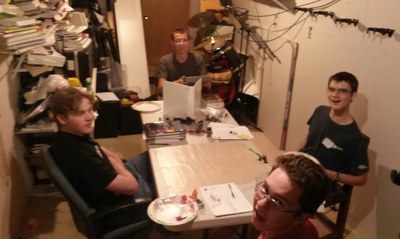 2014 Tolkien Moot X, GURPS in Middle earth RPG table