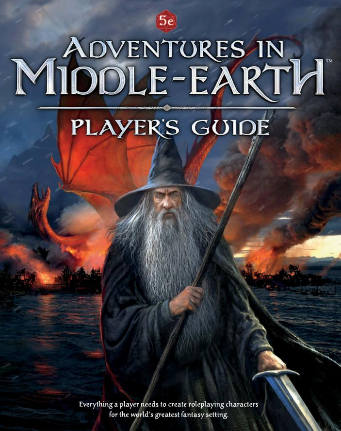 Preview of Adventures in Middle-earth RPG