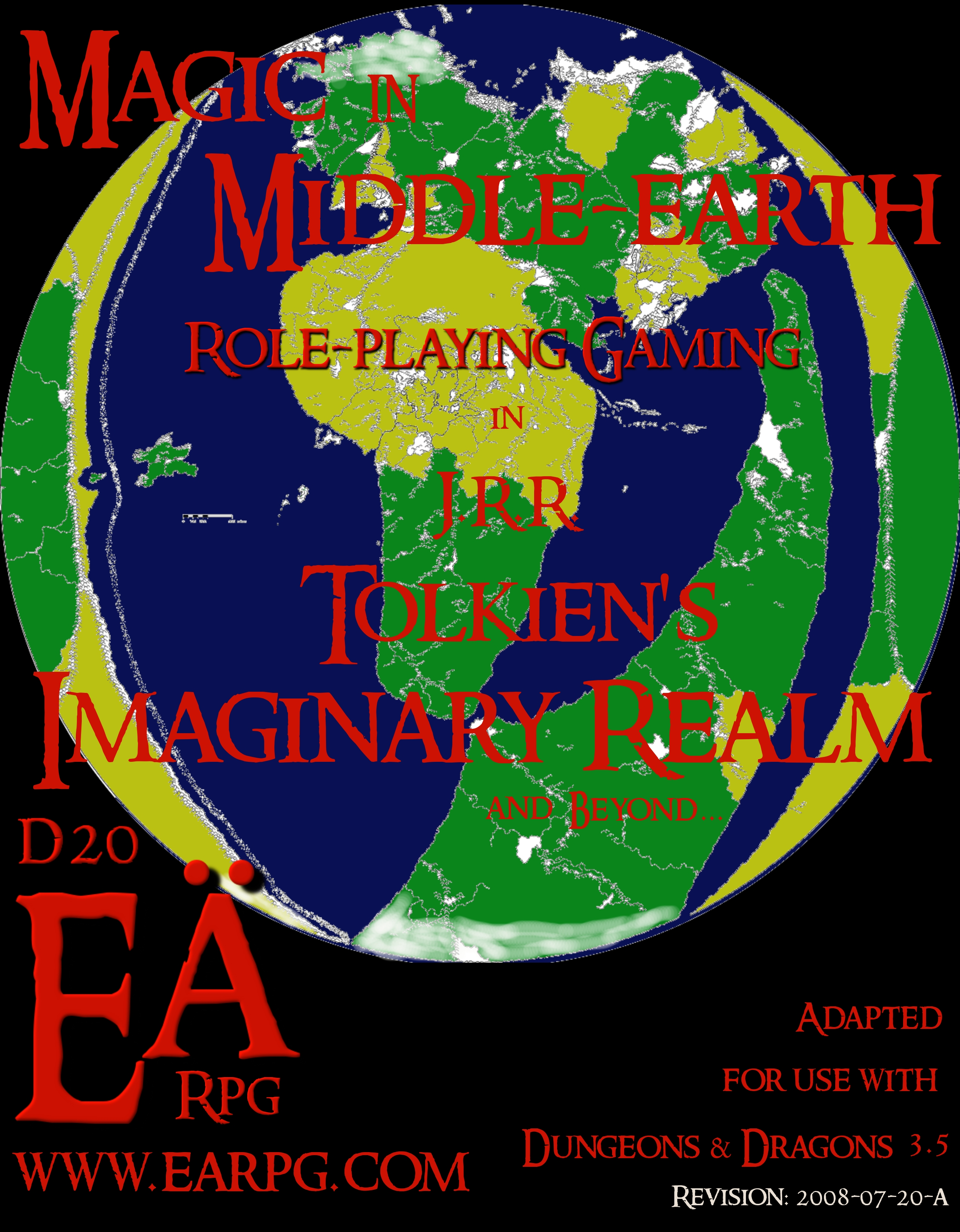 Updated Magic in Eä d20 3.5 Middle-earth version zf - Shadow Rules Early draft