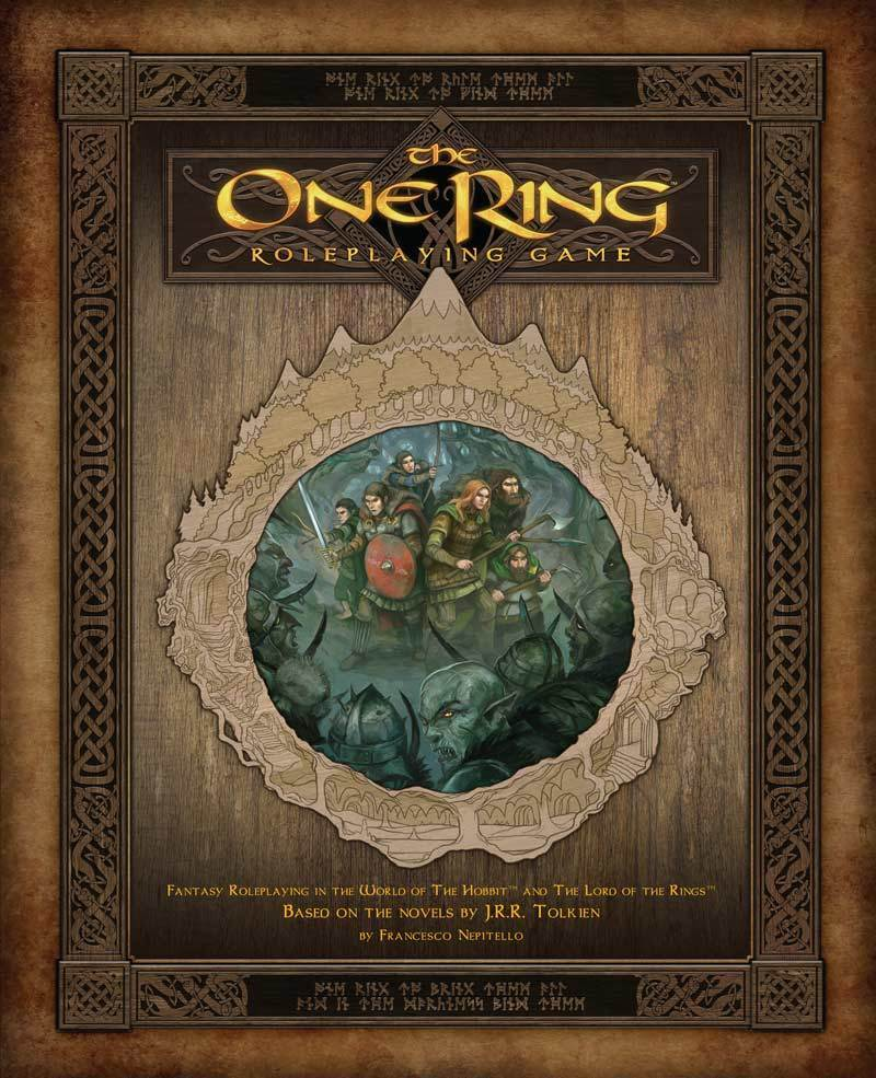 Video Review The One Ring RPG & Adventures in Wilderland Supplement